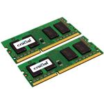 Crucial 8GB (2x4GB) DDR3-1600 CL11 SO-DIMM LV