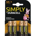 Duracell LR6 4-BL Duracell Simply