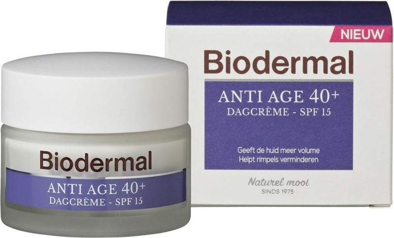 Biodermal Dagcreme anti age 40+ 50ml