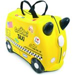 Trunki Ride-On GERRY Giraf- Kinderkoffer - 46 cm - Geel,Bruin
