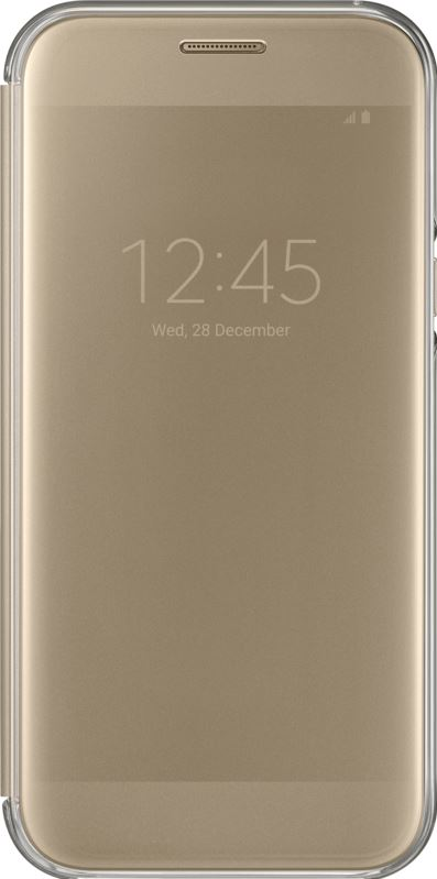 Samsung Galaxy A5 2017 Clear View Cover Goud