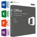 Microsoft Office MAC Home & Student 2016 1D NL