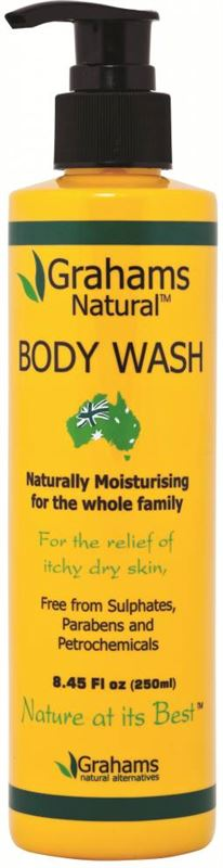 Graham S Natural Body Wash
