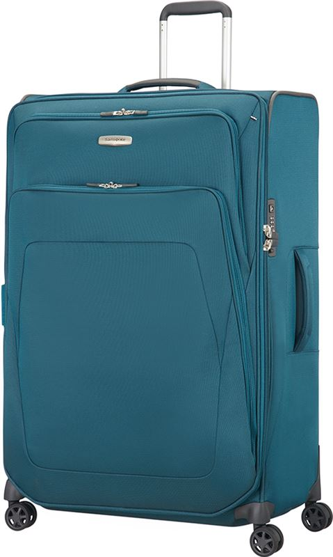 97276d5fdb4 Samsonite Spark SNG Spinner 82 Expandable petrol blue Zachte koffer Blauw