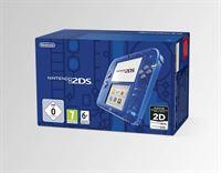 Nintendo 2 DS Transparent Blue