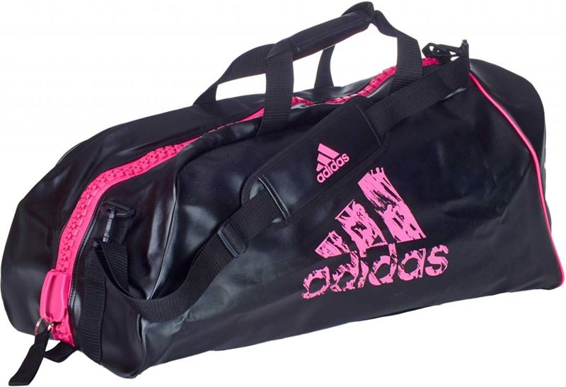 Adidas Super Sporttas Zwart/Roze Large Never out of Stock