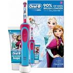 Oral-B Stages Power Elektrische Tandenborstel Disney Frozen + Tandpasta 75ml Set