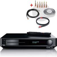 Teufel Impaq 8000 Blu-ray Receiver inkl. Kabel-Set Home cinema