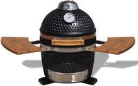 vidaXL Kamado barbecue grill smoker keramisch 44 cm