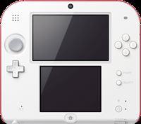 Nintendo Console 2Ds Blanc + Rouge