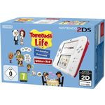 Nintendo 2DS + Tomodachi Life rood, wit