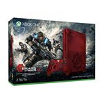 Microsoft Xbox One S Gears of War 4 Limited Edition rood