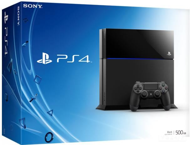 Sony 500GB PlayStation 4 zwart