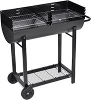 vidaXL Houtskool Barbecue Dakota