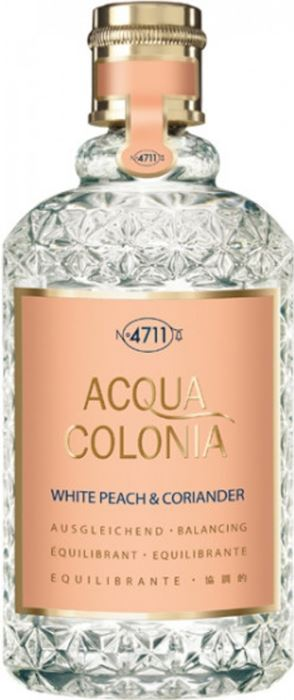 4711 Acqua Colonia White Peach & Coriander Eau de Cologne Spray 50 ml