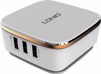 LDNIO Charger 6 USB Poorten 7A Wit