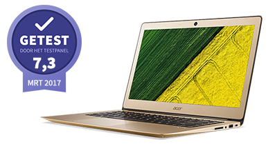 Acer swift 3  – getest door het testpanel