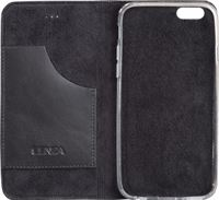 Senza Authentic Leather Apple iPhone 5/5S/SE Book Case Zwart