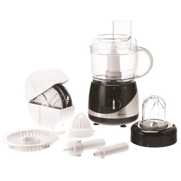grundig food processor um 5040 premium line 650 watt rvs wit zwart kopen kieskeurig be. Black Bedroom Furniture Sets. Home Design Ideas
