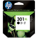 HP 301XL originele high-capacity zwarte inktcartridge