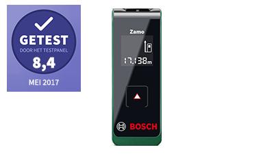 Bosch Zamo laserafstandsmeter – getest door het testpanel