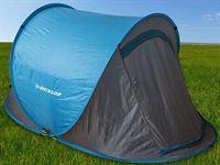 Dunlop Pop-up tent - 2-Persoons - Blauw 255x155x95