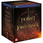 KOLMIO MEDIA Hobbit Lord of the rings trilogy Blu ray