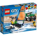 lego City 4x4 met catamaran 60149