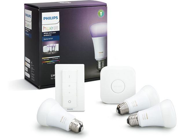 Philips Wekker Licht : Philips hue white and color starterkit e specificaties