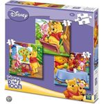 King International 3 in 1 Disney Puzzel Winny The Pooh