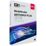 Bitdefender Antivirus Plus 2018 1 Jaar / 1 Device