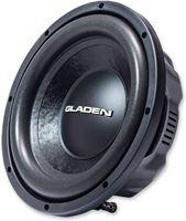 Gladen RS-X10 Slim - 25 cm platte subwoofer