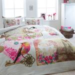 Dreamhouse Bedding Vintage Love Kinderdekbedovertrek Eenpersoons 140 x 200220 1 kussensloop 60 x 70 Multi