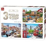 King International Puzzel City Collection 3-In-1 1000 stukj