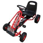 vidaXL Skelter F1 Junior rood