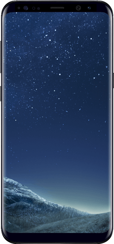 Samsung Galaxy S8+ 64 GB / zwart