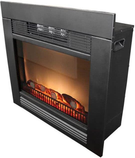 Classic fire Edco Electrische kachel 1800 Watt Heater Chicago LED 67x23x62cm