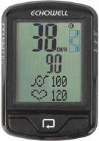 Echowell fietscomputer MW10G draadloos zwart