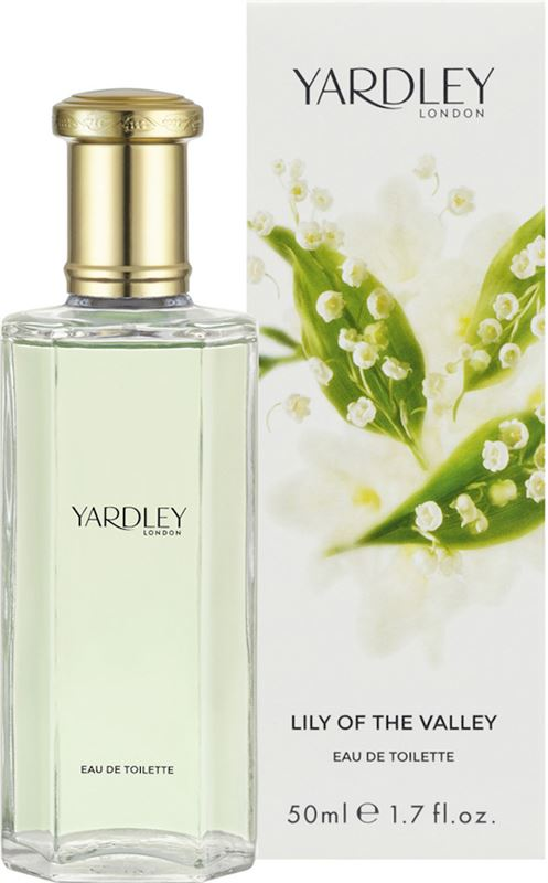 YARDLEY Lily Of The Valley Eau De Toilette Spray 50ml