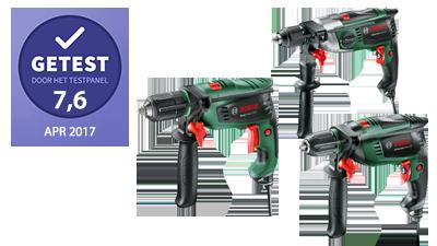 Bosch EasyImpact 550, UniversalImpact 800 en AdvancedImpact 900 – getest door het testpanel