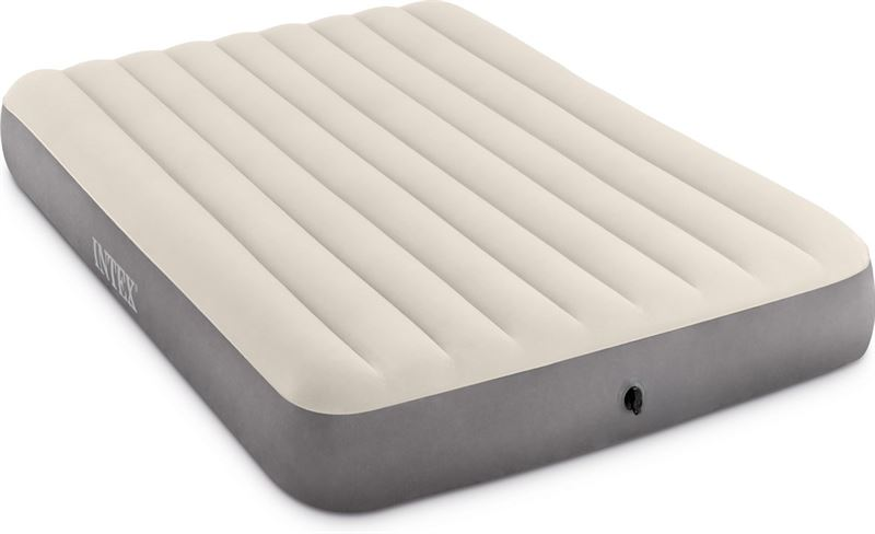 Intex Dura-beam Single Hight Airbed Queen - Luchtbed - 2-Persoons - 152x203x25cm