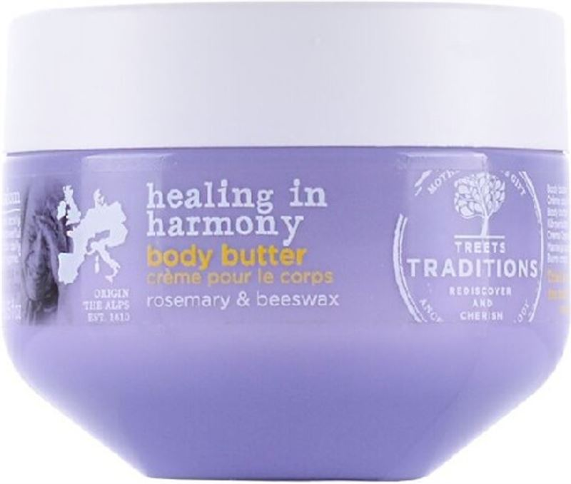 Treets Healing in Harmony body butter 250ml