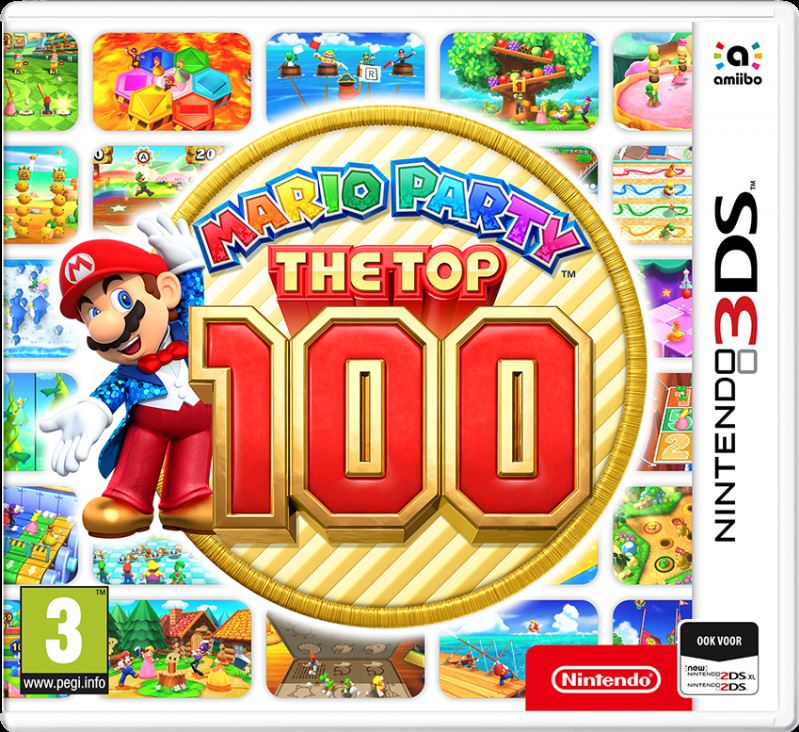 Nintendo Mario Party the Top 100