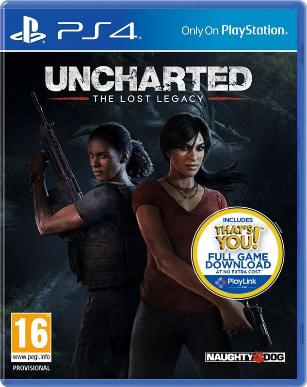 Sony Uncharted: The Lost Legacy (+ Pre-order Bonus
