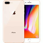 Apple iPhone 8 Plus zilver / 32 GB