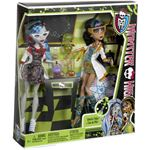 Mattel Monster High - Monsterstudenten Ghoulia & Cleo