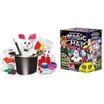 Basic Goocheldoos Magic Hoed 75-delig met DVD