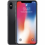 Apple iPhone X zilver / 32 GB