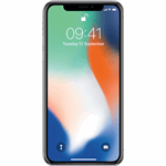 Apple iPhone X zilver / 64 GB