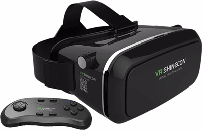 a20abed47b307d VR SHINECON Virtual Reality Glasses